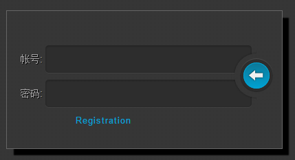 css3实现网页后台登录界面