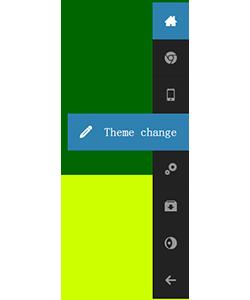 jquery网页浮动导航点击锚点链接屏幕滚动效果