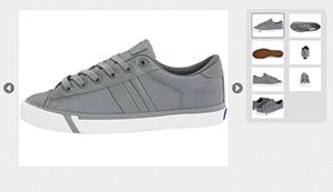 js实现购物商城图片相册,图片放大展示特效代码