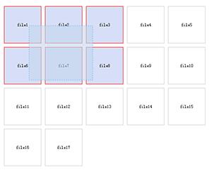 js实现鼠标按住左键拖动方框选中特效代码