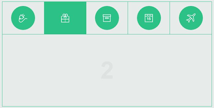 HTML5 实现Tab选项卡动画切换特效代码